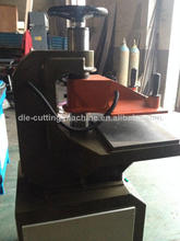 swing arm hydraulic shoe sole attaching machine