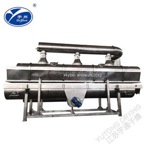 CE SGS ISO Approved Rectilinear Vibrate Fluid Bed Dryer for Drying Saline Salt Granules Pellets in Chemical Industry