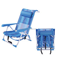 outdoor reclining backpack folding beach chair manufacture
