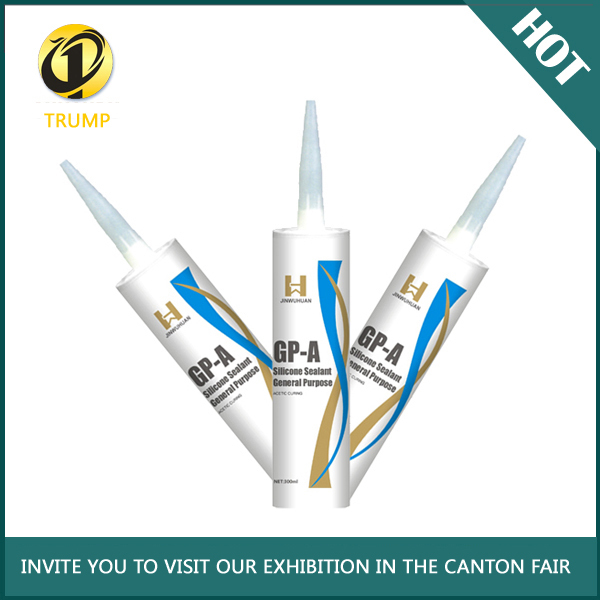 ivory color antifungal fungicide-load excellent adhesion Silicone Sealant