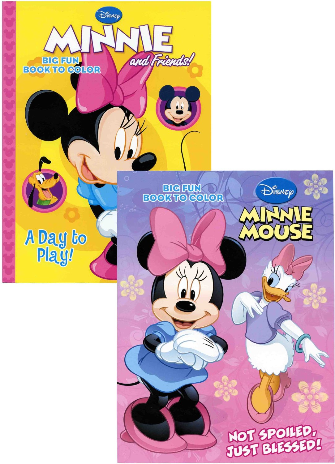 Disney Minnie Mouse 96 Pg Coloring Book Assorted