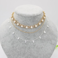 jewelry necklace new design rose gold color online shop china choker for women