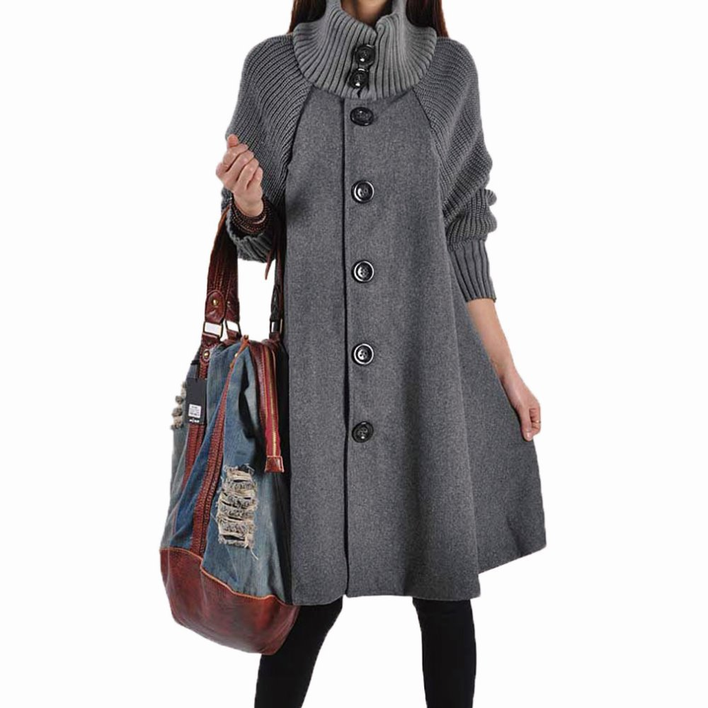 4731be2f0af0c Get Quotations · Maternity Sweaters Windbreaker Expansion Outerwear Coats  for Pregnant Women Elegant Maternity Coat Winter Wool Pregnancy Clothes