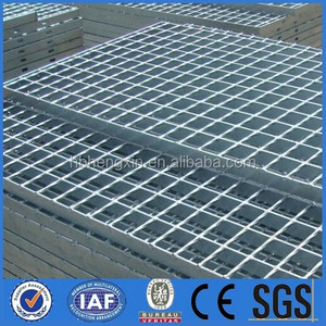 stainless steel grating /Metal Building Materials Hot Dipped 32 x 5mm Galvanized Steel Grating
