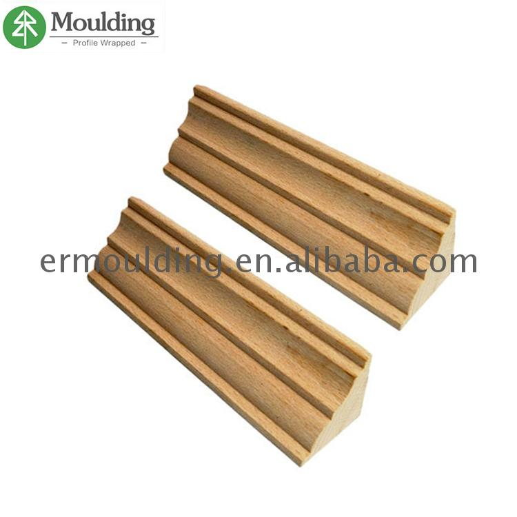Factory Hot Sales Durable and Eco-friendly flooring 1/4 round wood moulding