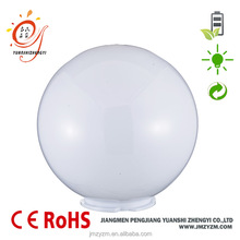 waterproof outdoor PMMA plastic dome round lawn lamp shade