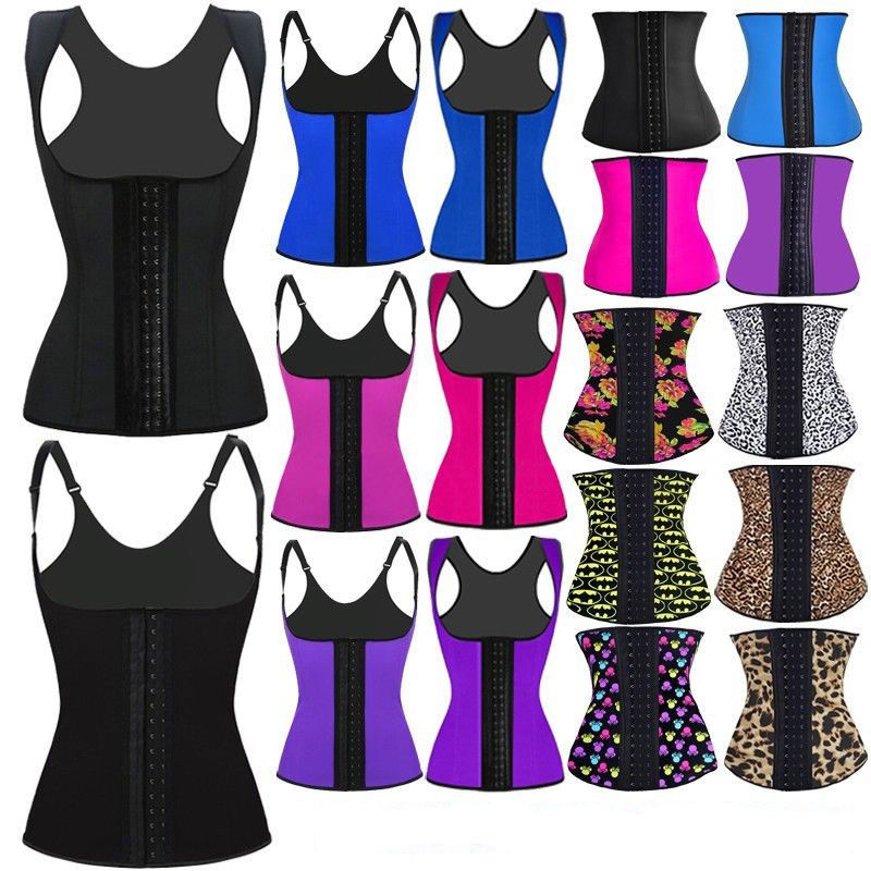 788b489a81a25 sexy underwear woman fajas s-6xl plus size Black lace waist trainer corset  slimming belt
