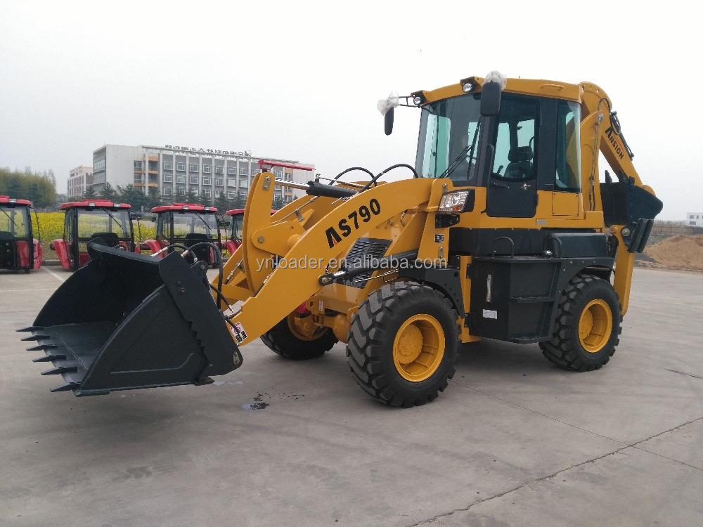 Chinese Backhoe Loader with price