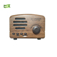Retro Bluetooth Speaker , Strong Bass Enhancement, 5W Loud Volume, V4.1 Easy Connection, Portable FM Radio