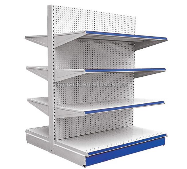 Supermarketstore Display Equipmentmetal Gondola Storage Shelfrack