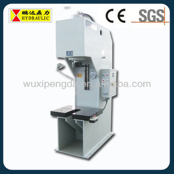 Yp41 C-type Hydraulic Press Machine With U-opening On The Working ...