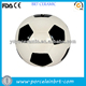 personality ceramic soccer money box