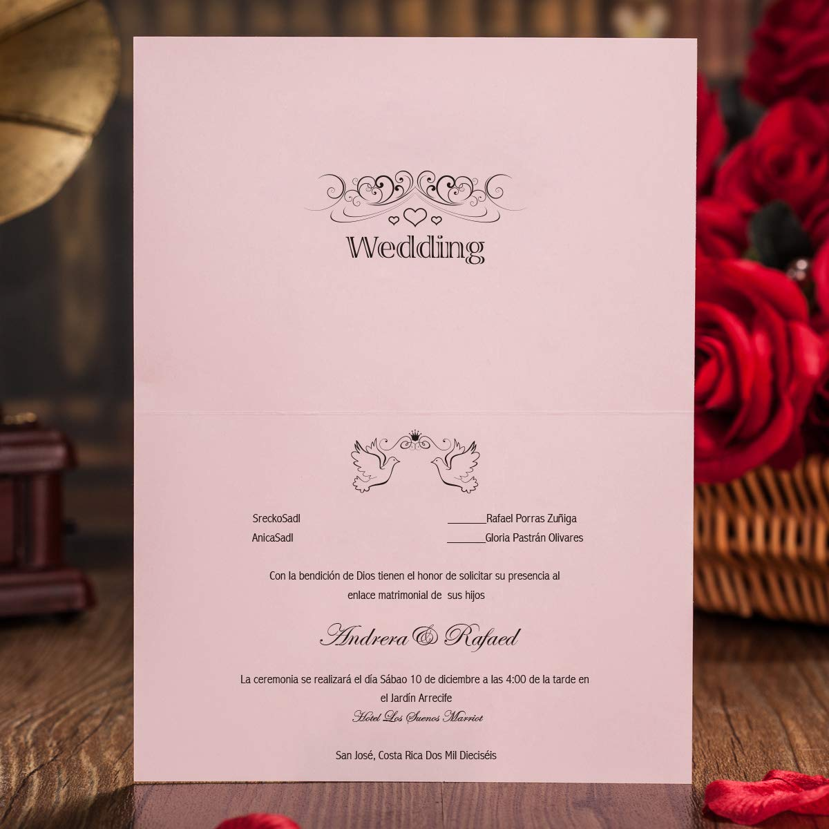 Manufacture Laser Cut Wedding Invitations Cards With Pink Ribbons For Wedding  Bridal Shower Engagement Birthday Graduation - Buy Engagement Invitation  Red Blue Cards,Luxury Butterfly Wedding Invitation Cards & Clubs Party, Invitation Birthday Cards