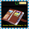 Wholesale pu leather wallet design cell phone case for iphone 6/6s with card slot