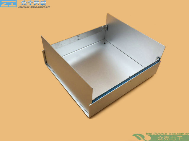 AL-11/ 430*350*223mm External dimension metal Controller Housing enclosure All-aluminum sheet metal chassis instrument case