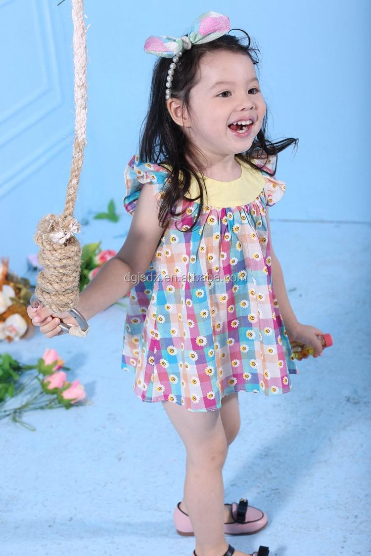 Children Models turkish fashion children clothing , lovely printed children dress models ,  children fancy dress flower