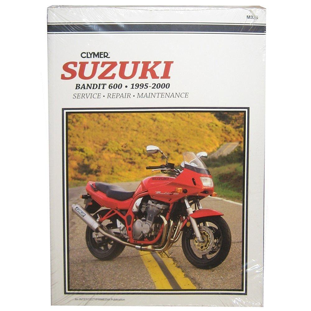 1995-2000 Suzuki GSF600 Bandit CLYMER MANUAL SUZUKI GSF600 BANDIT 95-00,  Manufacturer