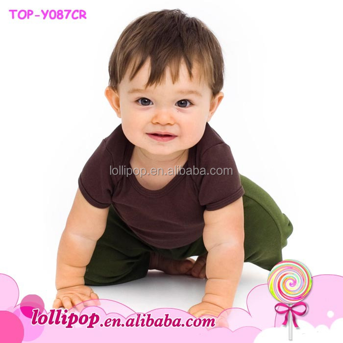 T shirt Maker Organic Cotton Blank Toddler Vintage Tee Kid Clothes Baby Boys Girls Short Sleeve T shirt Little Models Top