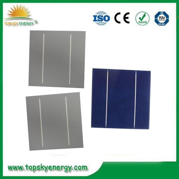 Solar cell manufacturers best choice taiwan brand <strong>poly</strong> 156x156 solar cells with high efficency