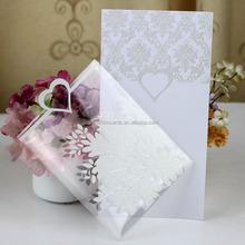 Glass Wedding Invitation Card Glass Wedding Invitation Card