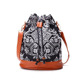 Wholesale Ethnic Style Fashion Women Bag Manual Organization Retro Embroider Canvas Bucket Bag