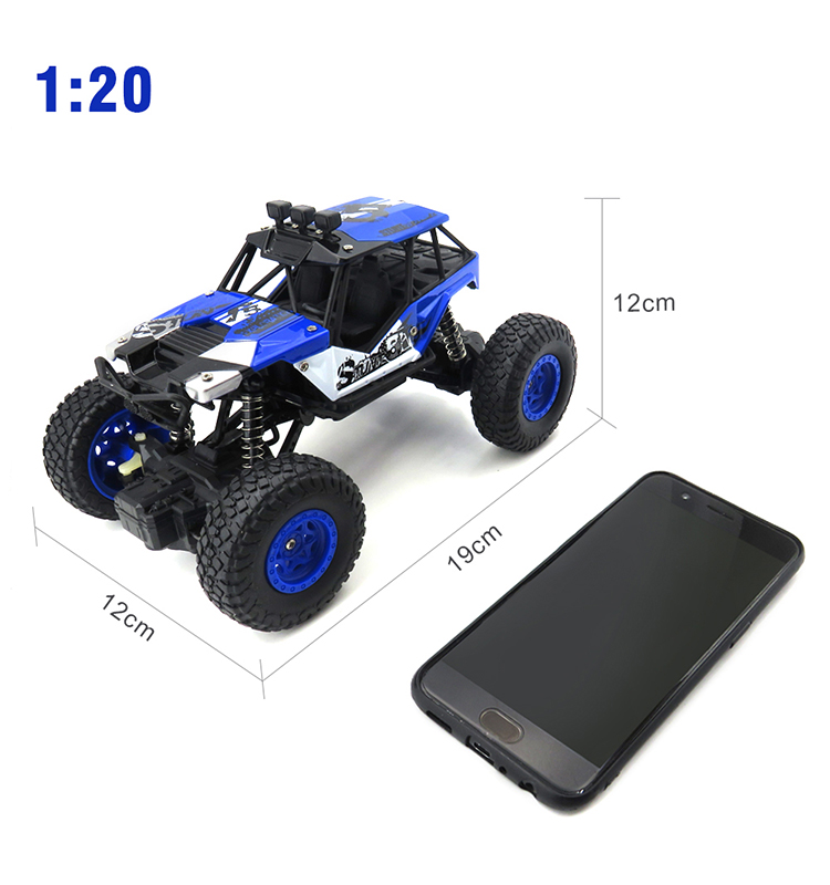 2.SL-108A_Blue_27MHz_Mini_4WD_Off-Road_Climbing_Remote_Control_Cars_Toy