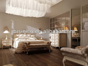 Country style new classical bedroom furniture set white - White country style bedroom furniture ...