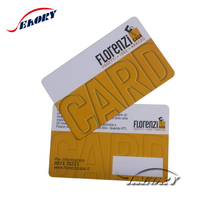 PVC Contact RFID smart teslin ID Card with magnetic stripe