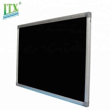 Eco-friendly natural chalkboard school magnetic blackboard with pen tray