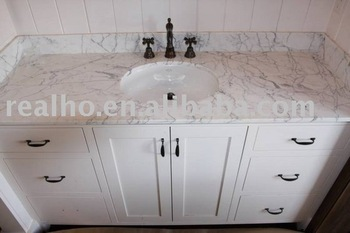 white carrara marble countertop - White Carrara Marble