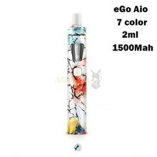 JoyetecheGo AIO все-в-одном Starter Kit vape создано 1500 мАч Батарея vape ручка Joyetech эго AIO электронная сигарета испаритель электронная сигарета вейп испарит...(Китай)