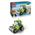 Kids Educational Toys 102pcs set Roller Truck DIY Assembling Building Blocks Construction Bricks
