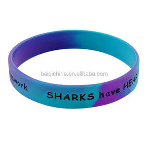 custom silicone hand bands cheap wholesale bracelets