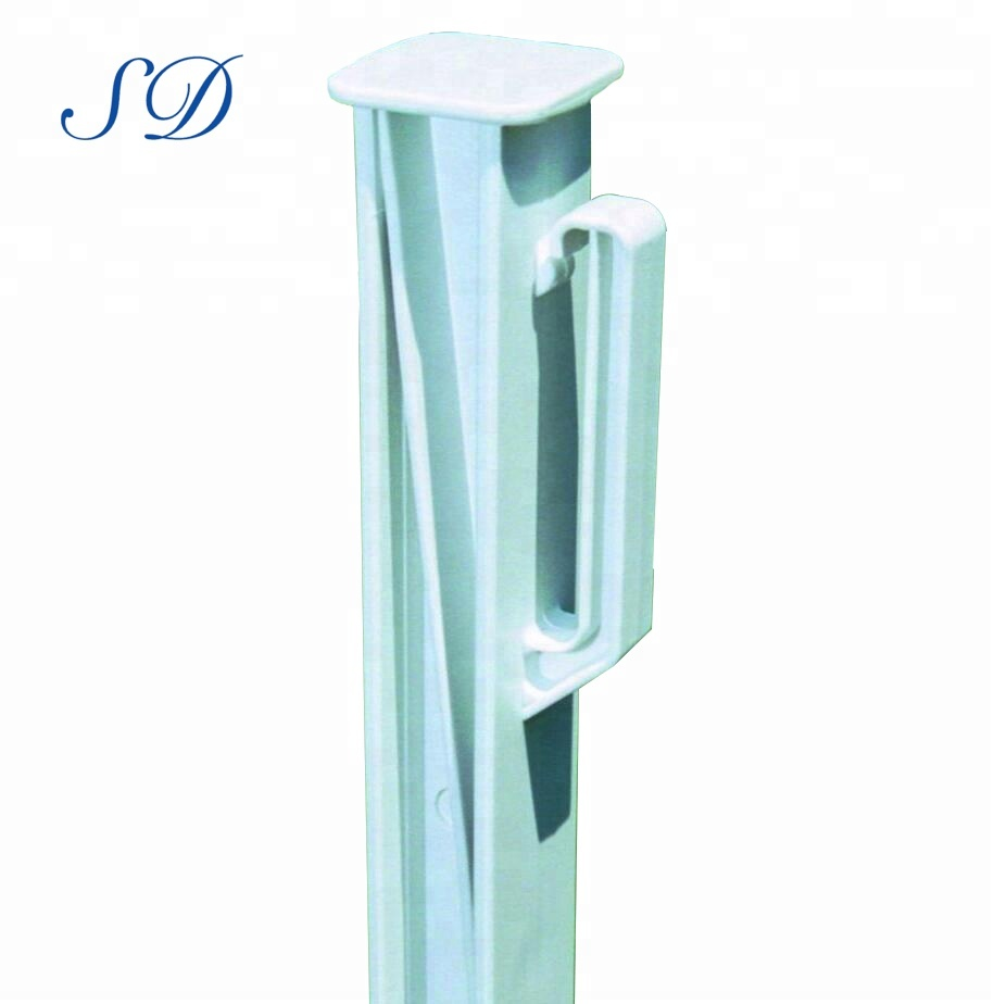 Cheap Product Electric Fence Plastic Step-in Poly Post With Steel Stakes  For Cattle Farm Fence - Buy Step-in Poly Fence Post,Step-in Fence