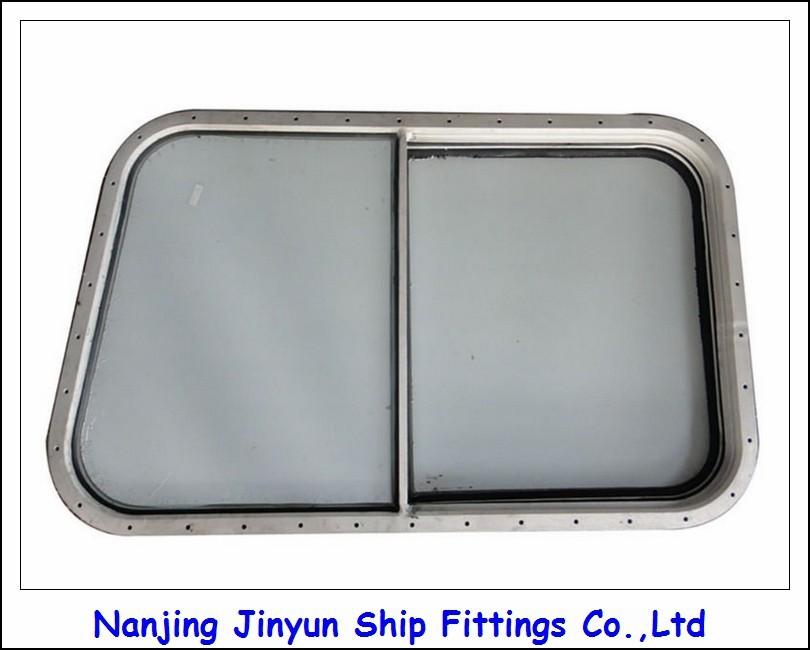 China Marine Aluminum Frame Tempered Glass Window Customized ...