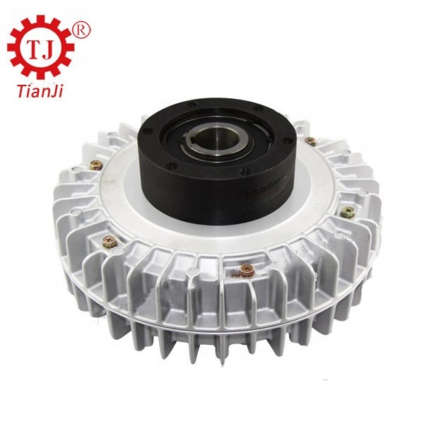 25n.m flange Input/hollow Shaft Output/hollow Shaft Install/rotational Shell Magnetic Powder Clutch