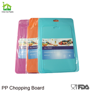 Best selling pp mini flexible cutting board and chopping board set
