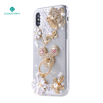pretty nice 4765e d8d48 Wholesale China Manufacturer Pearl Pc Custom Luxury Cell Shell Silicone  Mobile Cover Phone Case For Iphone X - Buy Silicone Phone Case,Mobile Phone  ...