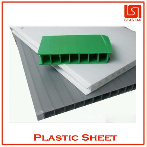 Hot sale high quality colourful EDS coreflute <strong>sheet</strong> supplier in china