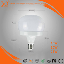 New product 2017 high quality mushroom shaped led bulbs of ISO9001 Standard