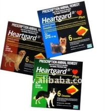 Heartgard Plus for dogs 6 Chewables Ivermectin / pyrantel heartworm disease Made in USA