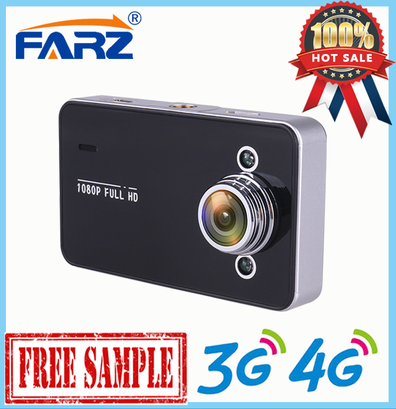 Factory Outlet Manual Kamera K6000 Mobil DVR 1080 P Full HD Perekam Dash Cam Kendaraan Blackbox DVR