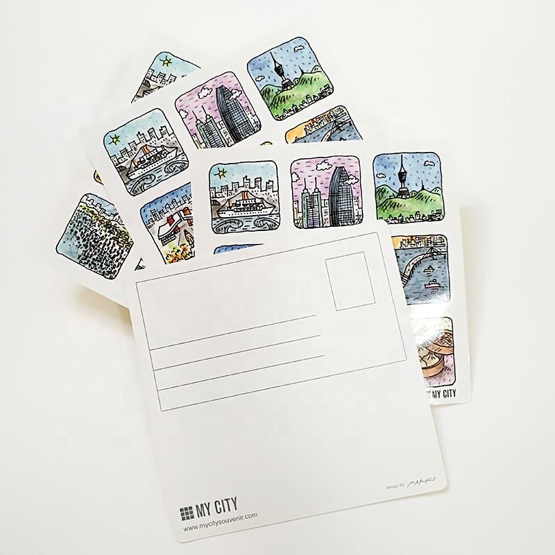 Почтовые открытки печать минск