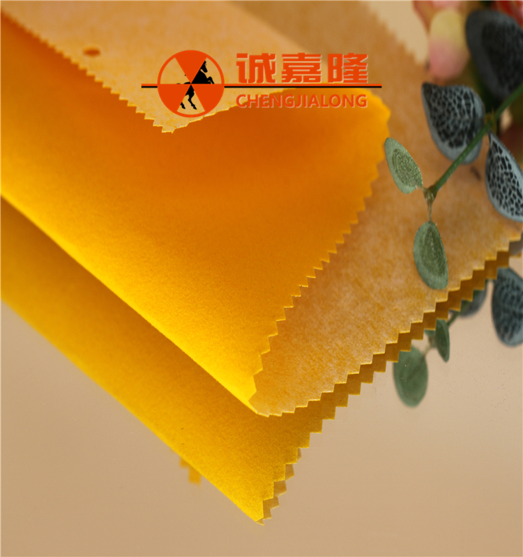 Spunlace flocking fabric / fabrc for footwear raw material