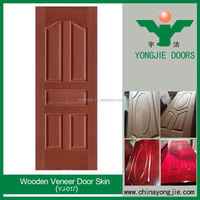 Wood Veneer Faced Hdf Door Skin