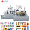 PVC plastic paper card blister tablet packing machine for battery