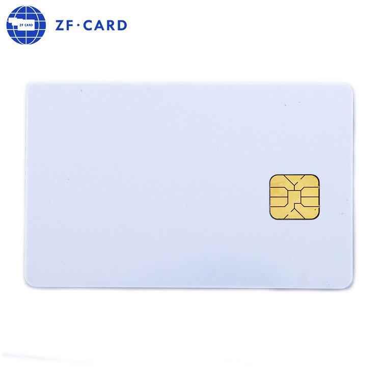 ISO7816 2 K Byte ATMEL AT24C02 kontaktieren IC weiß karte leer