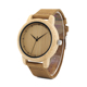 Bobo Bird 2018 newJapan movement mens bamboo quartz watch