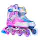 PU PU-LIGHT wheels breathe vamp rubber material vivid colors 8 wheels speed inline skates shoes