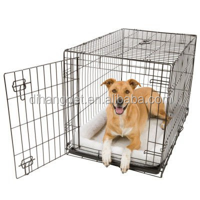 Many Colors Wire Mesh metal Dog Cage for sale cheap
